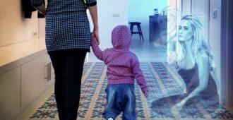 Душа женщина нашла своего ребенка