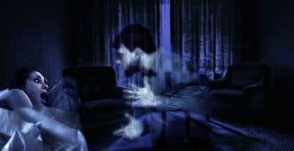 Страшная картинка привидение