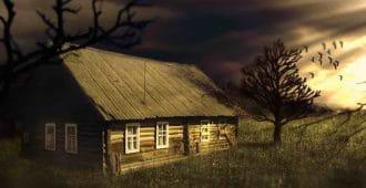Старый дом на окраине села