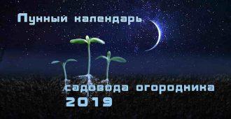 лунный календарь садовода огородника 2019