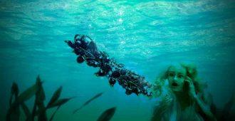 заколка для русалки